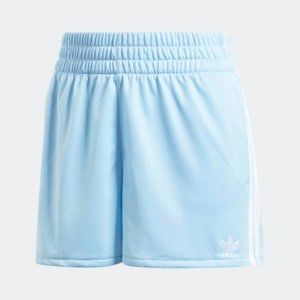 ADIDAS 3-Stripe Back Pocket Shorts Clear Sky Blue